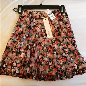 LF skirt with flowers